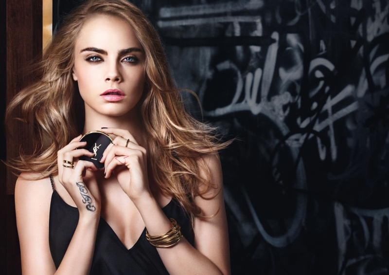 Cara Delevigne for YSL Beauty